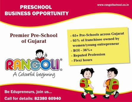 Preschool Business Opportunity in India